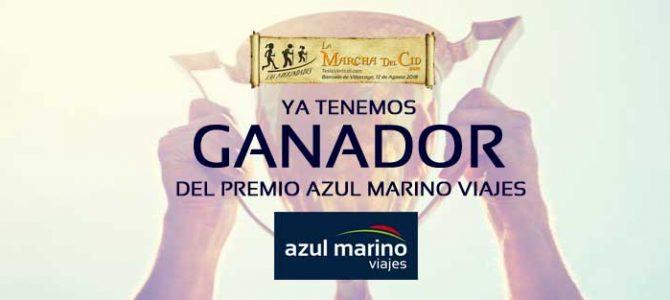 Ganador del Gran Premio Azul Marino Viajes
